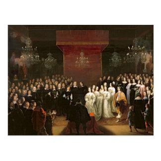 Carte Postale Le mariage de Frederick William