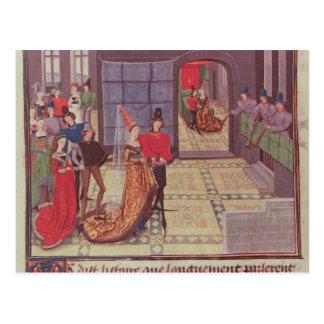 Carte Postale Le mariage de Renaud De Montauban et