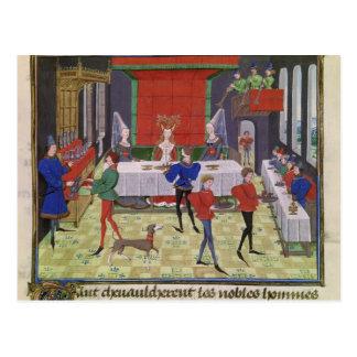 Carte Postale Le mariage de Renaud de Montauban et de Clarisse