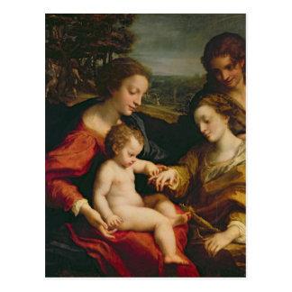 Carte Postale Le mariage mystique de St Catherine de