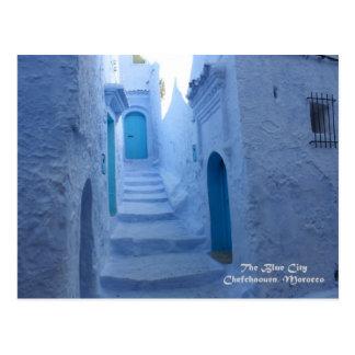 Carte Postale Le Maroc, Chefchaouen, la ville bleue
