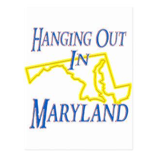 Carte Postale Le Maryland - traînant