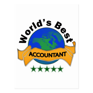 Carte Postale Le meilleur comptable du monde