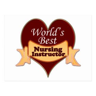 Carte Postale Le meilleur instructeur des soins du monde