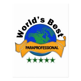 Carte Postale Le meilleur paraprofessionnel du monde