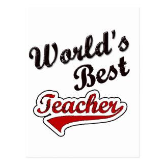 Carte Postale Le meilleur professeur du monde