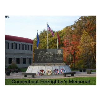 Carte Postale Le mémorial du sapeur-pompier du Connecticut