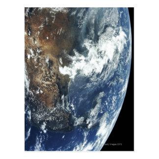 Carte Postale Le Mexique de l'espace
