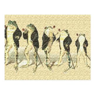 Carte Postale Le monsieur