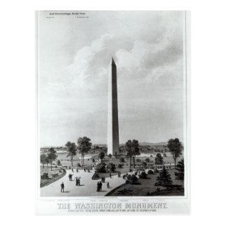Carte Postale Le monument de Washington et les environs