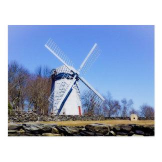 Carte Postale Le moulin à vent de Jamestown a construit en 1789