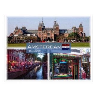 Carte Postale Le NL Hollande - Amsterdm -