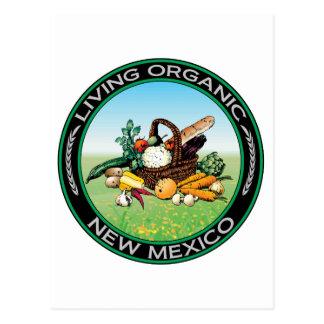 Carte Postale Le Nouveau Mexique organique