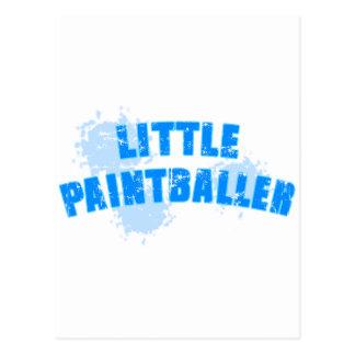Carte Postale Le Paintball de Little Boy