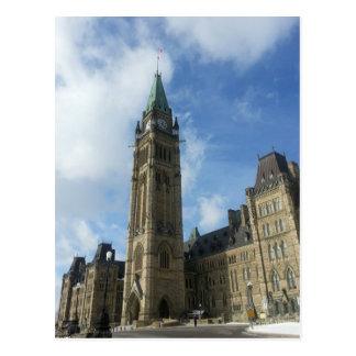 Carte Postale Le Parlement canadien à Ottawa