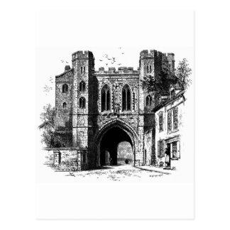 Carte Postale Le passage d'Edgar, Worcester