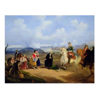 Carte Postale Le pasteur Ernst Glueck présente Marta