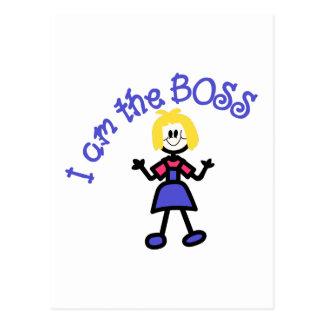 Carte Postale Le patron