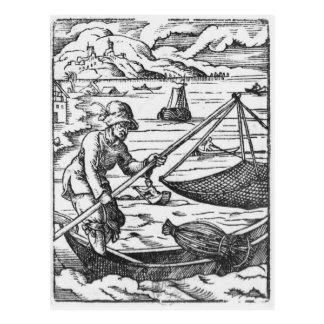 Carte Postale Le pêcheur