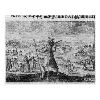 Carte Postale Le pèlerin de Palatinate', Frederick V