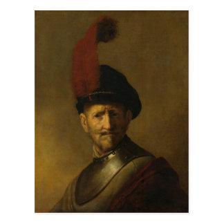Carte Postale Le père de Rembrandt, Gerrit Rembrandt, 1634