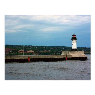 Carte Postale Le phare et le pilier du nord