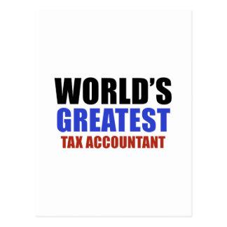 Carte Postale Le plus grand comptable des impôts du monde