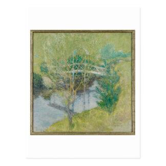 Carte Postale Le pont blanc, c.1895 (huile sur la toile)