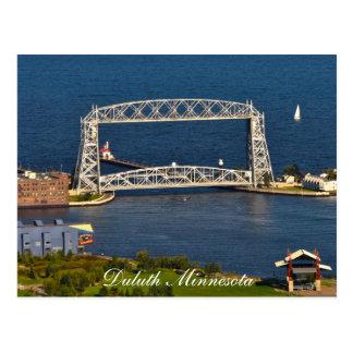Carte Postale Le pont d'ascenseur de Duluth Minnesota