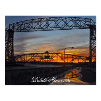Carte Postale Le pont d'ascenseur Duluth Minnesota