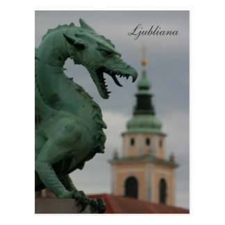 Carte Postale Le pont de dragon