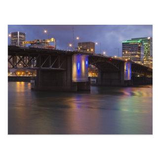 Carte Postale Le pont de Morrison au-dessus de la rivière de