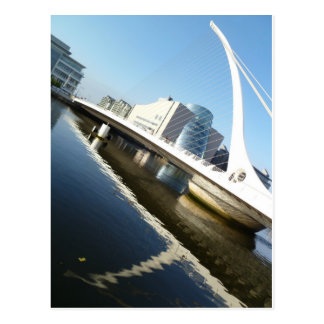 Carte Postale Le pont de Samuel Beckett