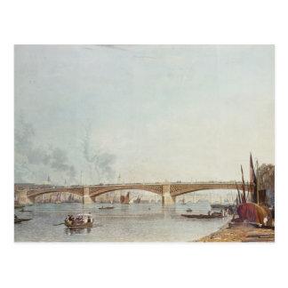 Carte Postale Le pont de Southwark, affrontent à l'ouest, de