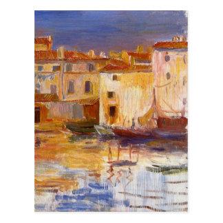 Carte Postale Le port de Martigues par Pierre-Auguste Renoir