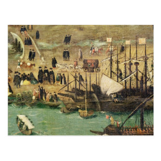 Carte Postale Le port de Séville, c.1590