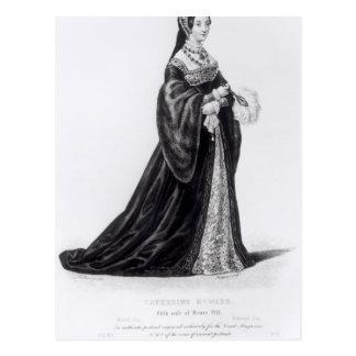 Carte Postale Le portrait de Catherine a gravé par Hargrave