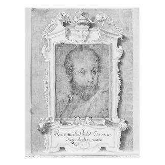 Carte Postale Le portrait d'un homme a présumé d'être Veronese