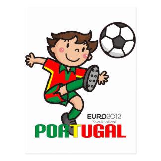 Carte Postale Le Portugal - euro 2012