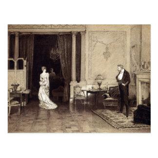 """Carte Postale Le premier nuage, de la """"heure de loisirs"""", 1888"""