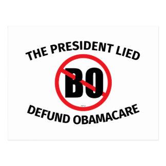 Carte Postale Le Président Lied