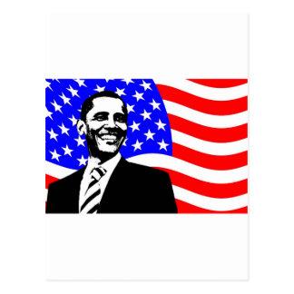 Carte Postale Le Président Obama Attire