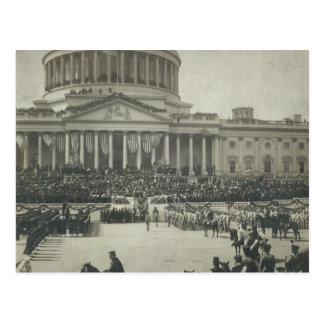 Carte Postale Le Président Theodore Roosevelt prenant le serment