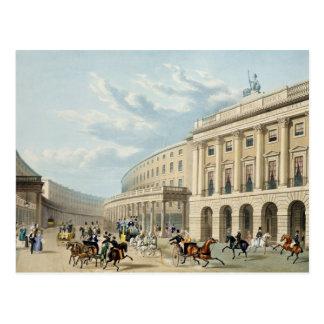 Carte Postale Le quart de cercle, rue de régent, de Piccadilly