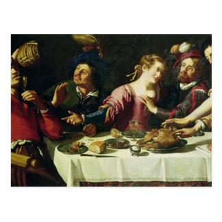 Carte Postale Le repas