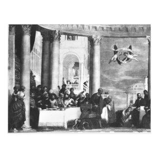Carte Postale Le repas à la Chambre de Simon le Pharisee