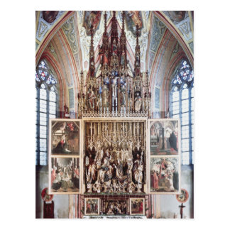 Carte Postale Le retable 1471-81 de St Wolfgang