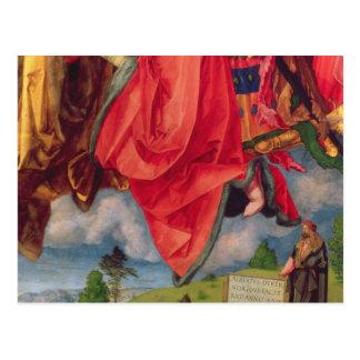 Carte Postale Le retable de Landauer, tout le jour de saints,