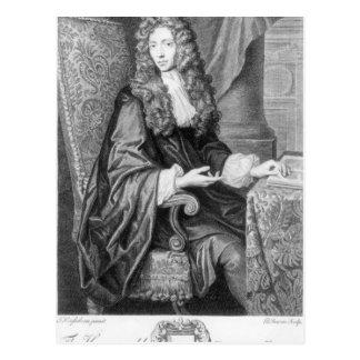 Carte Postale Le Robert honorable Boyle gravé par B. baron