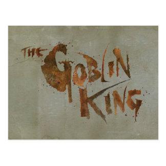 Carte Postale Le roi de lutin
